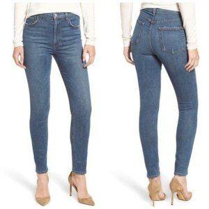 Reformation High & Skinny Jeans in Rhine Wash 30